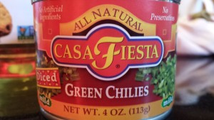 Casa Fiesta Diced Green Chiles (Photo Credit: Adroit Ideals)