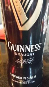 Guinness beer is a good dark beer (Photo Credit: Adroit Ideals)