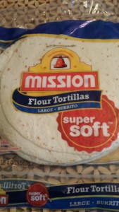 Burrito Size Flour Tortillas (Photo Credit: Adroit Ideals)