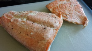 Baked Salmon (Photo Credit: Adroit Ideals)