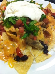 Nachos with Black Beans  (Photo Credit: Adroit Ideals)