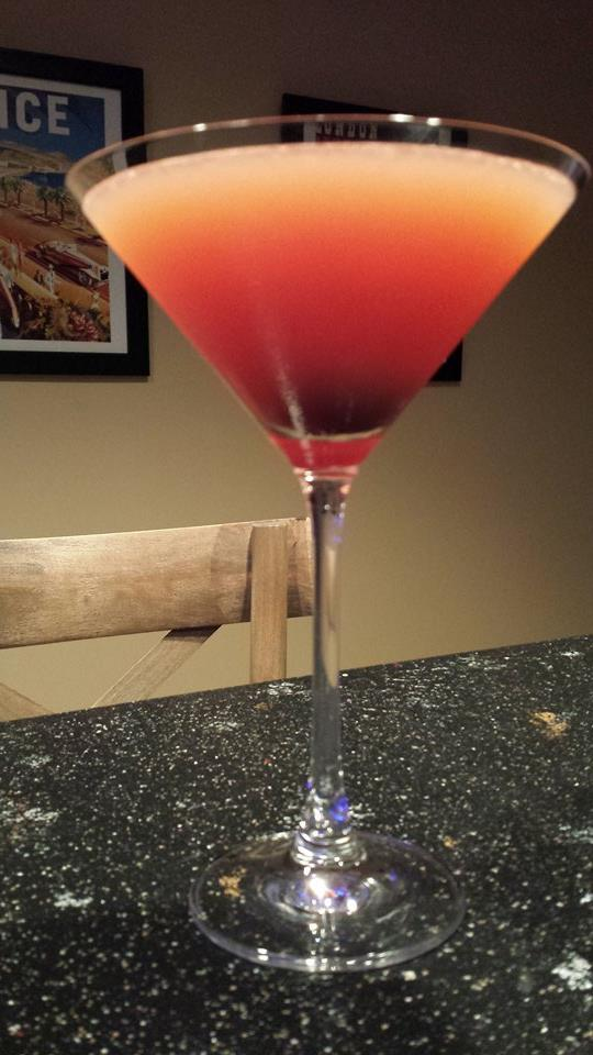 The Clifton Sunset Martini (Photo Credit: Adroit Ideals)