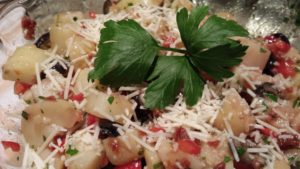 Add a little more parmesan and a sprig of parsley (Photo Credit: Adroit Ideals)