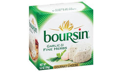 Boursin cheese is readily available in most areas (Photo Credit: boursin.com)