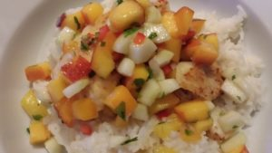Zesty Cucumber Pineapple Peach Salsa (Photo Credit: Adroit Ideals)