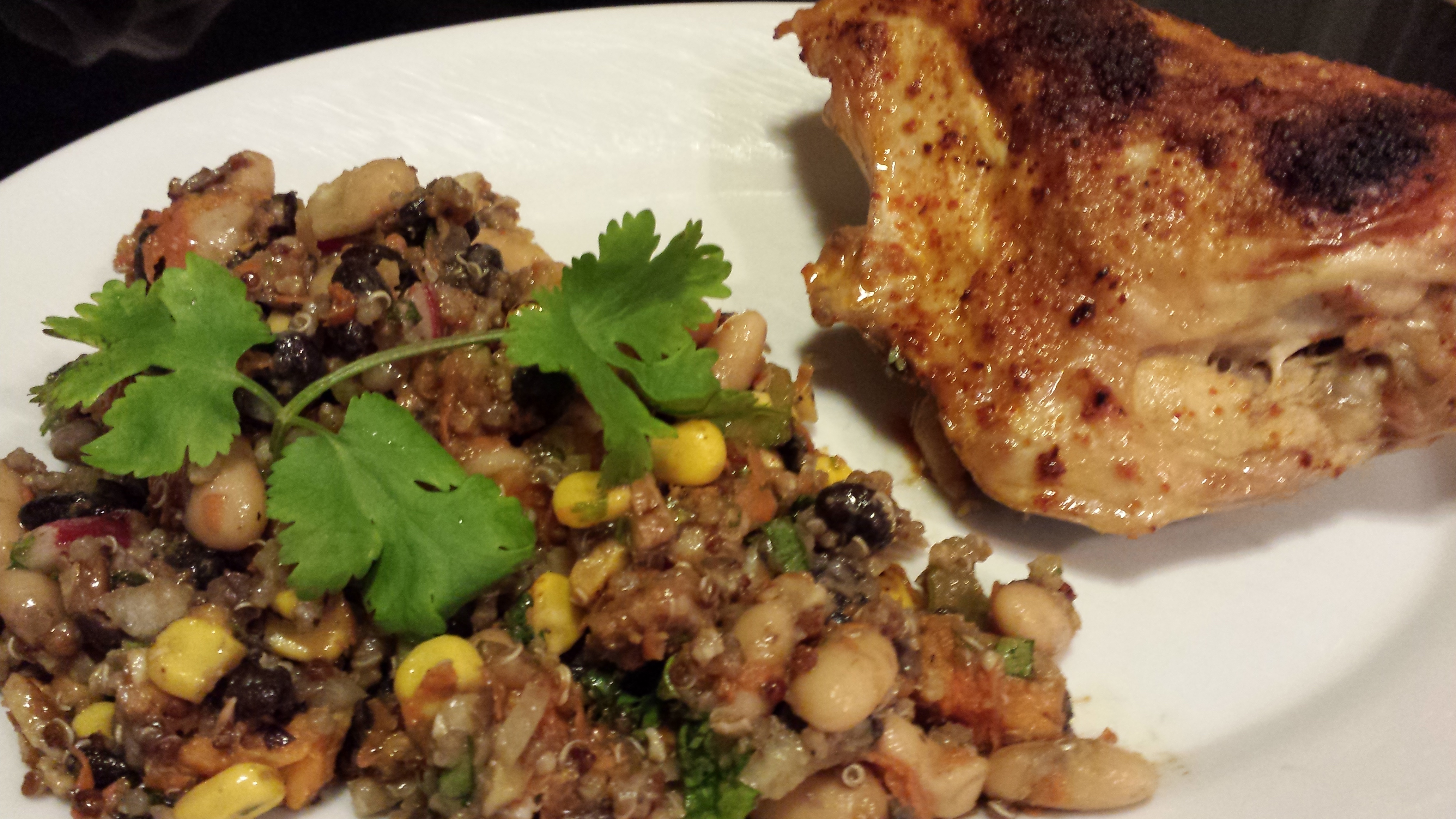 Whole foods market super grains recipes archives a food lovers healthy bean salad forumfinder Images