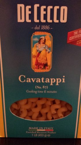 Cavatappi Pasta (Photo Credit: Adroit Ideals)