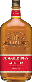 Dr. McGillicuddy's Apple Pie Liqueur (Image courtesy drmcgillicuddy.com)