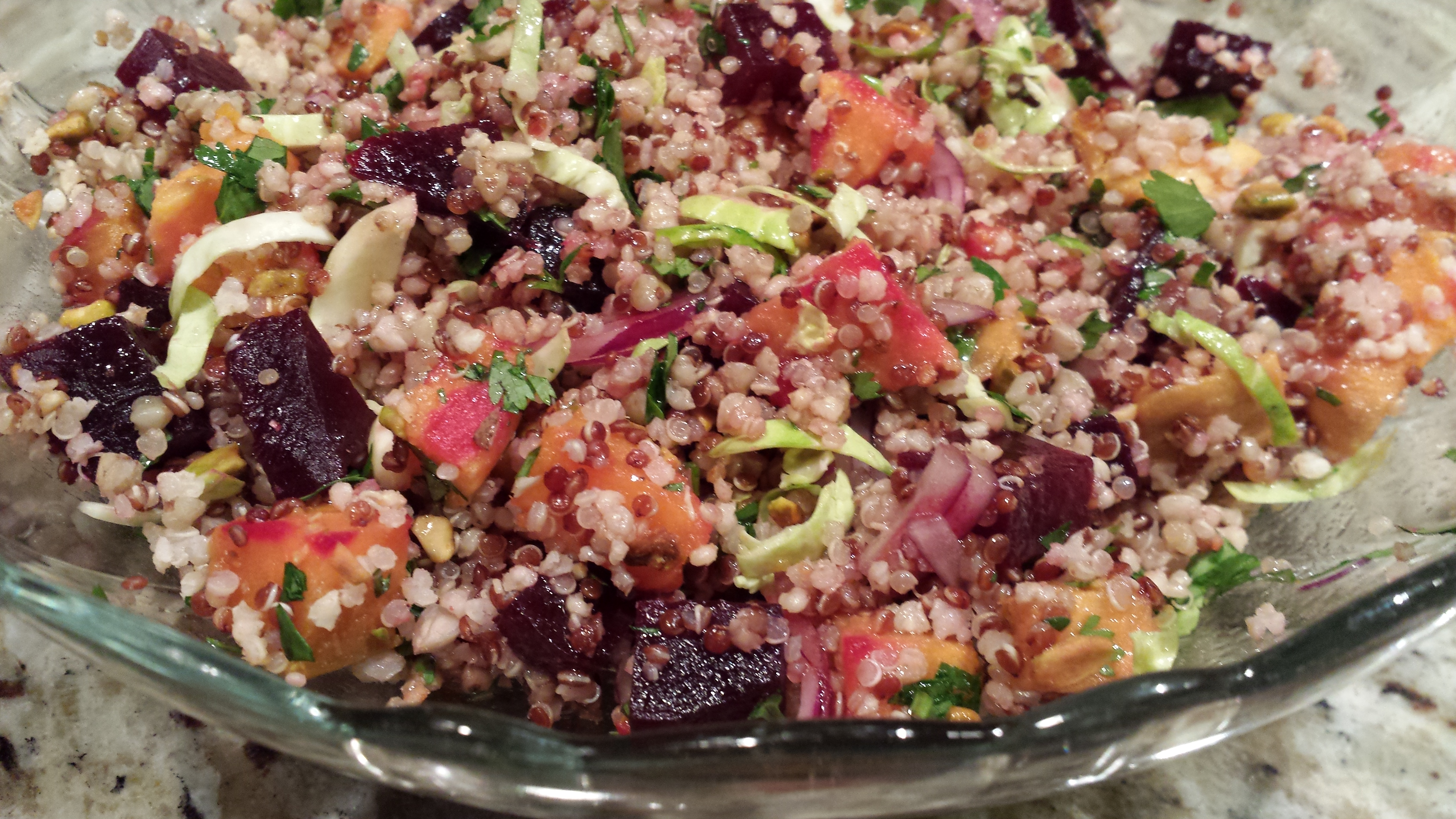 Whole foods market super grains recipes archives a food lovers autumn harvest super grains salad forumfinder Images