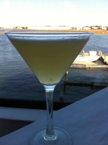 The Lemon Rosemary Martini at Catch 54 in Fenwick Island, Delaware (Photo Credit: Adroit Ideals)