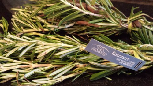 Local rosemary from Shenahdoah Growers (Photo Credit: Adroit Ideals)