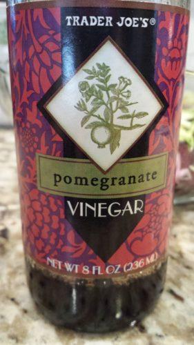 Trader Joe's Pomegranate Vinegar (Photo Credit: Adroit Ideals)