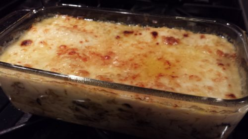 White Rabbit Lasagna with Camembert Bechamel Sauce (Photo Credit: Adroit Ideals)