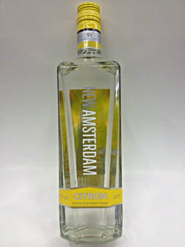 New Amsterdam Citron Vodka (photo courtesy qualityliquorstore.com)