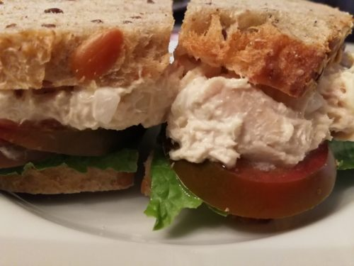 The Best Tunafish Salad Sandwich