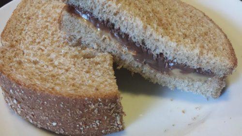PB Nutella Sandwich