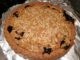Just baked blueberry crumble pie