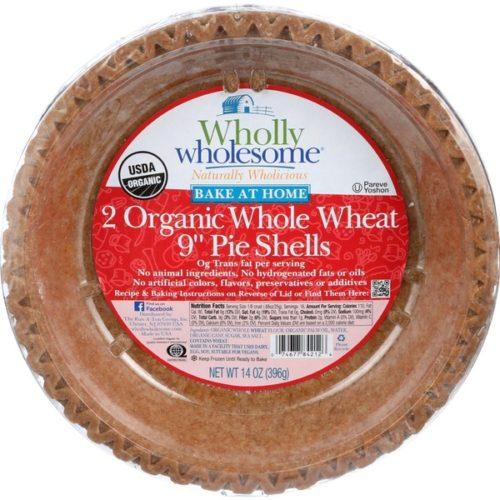 whole grain frozen pie shells