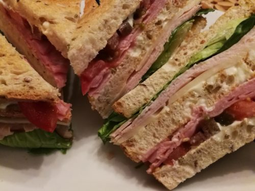 Clifton Club Sandwich layers