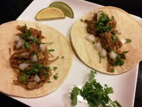 Jackfruit Carnitas Tacos