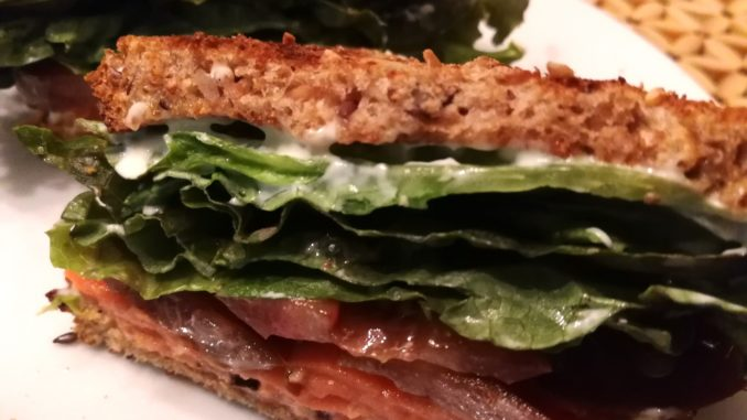 BLT with Smoked Salmon