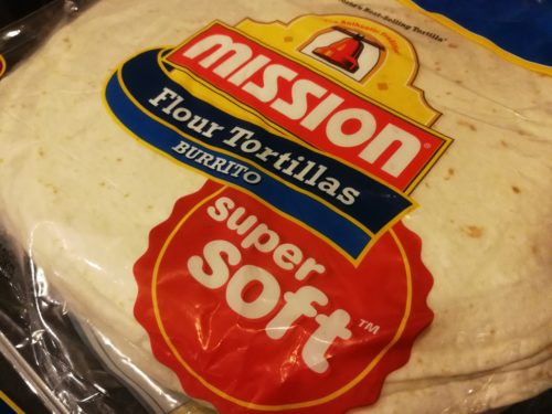 burrito size flour tortillas