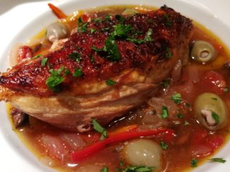slow braised chicken provencal