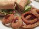 Spicy fish sandwich