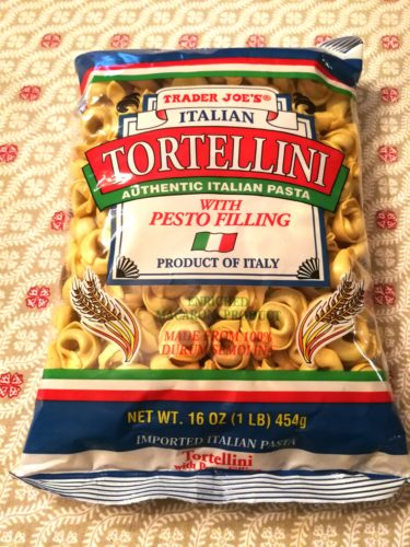 Trader Joe's Tortellini with Pesto Filling