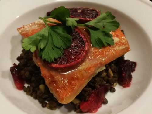 Blood Orange Baked Salmon