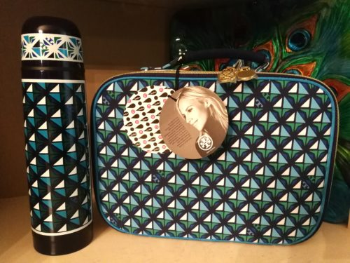Tory Burch thermos and lunch box