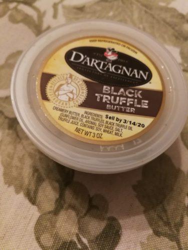 D'Artagnan's rich black truffle butter