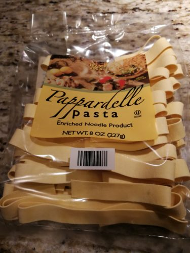 Trader Joe's Pappardelle Pasta