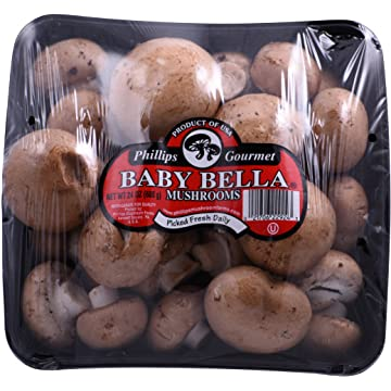Baby Bella Mushrooms
