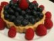 Blueberry Lemon Tart with Raspberries