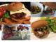 Burger Bar with 4 burgers
