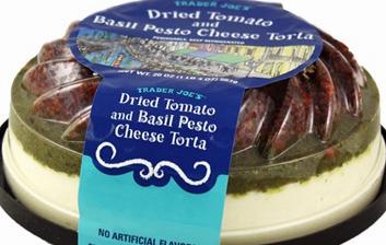 Trader Joe's Dried Tomato and Basil Besto Cheese Torta